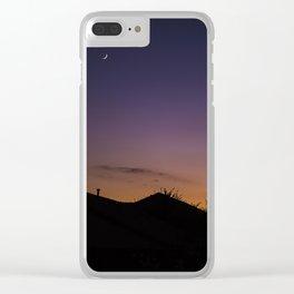 Night Sky Clear iPhone Case