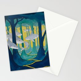 Shark Forest Stationery Cards