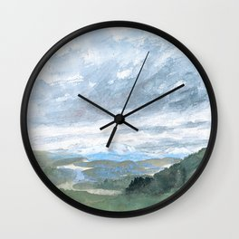 Landscapes in my mind Wall Clock