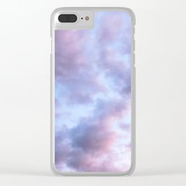 Saturday Evening Clear iPhone Case