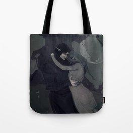 Dark Elven Moon Tote Bag