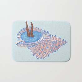 Hide Away Bath Mat