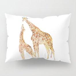 Mother and Baby Giraffes Pillow Sham