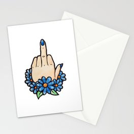 Middle Fingers UP Stationery Cards