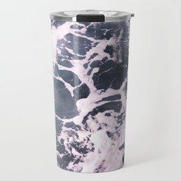 Marbled Waves Travel Mug