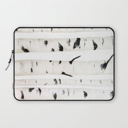 birch  watercolor Laptop Sleeve