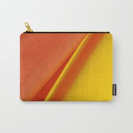 Orange & Yellow Carry-All Pouch
