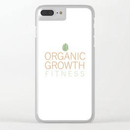 Organic Growth Fitness Clear iPhone Case