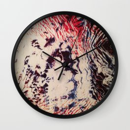 Emotion Shibori Wall Clock