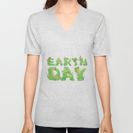 Grass Earth Day Unisex V-Neck