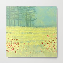 Meadow near Périgueux Metal Print