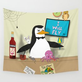 Penguin: The Barman Wall Tapestry