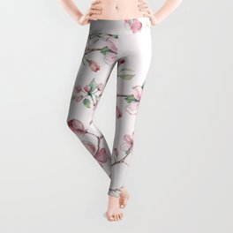 Apple Blossom Pink #society6 #buyart Leggings