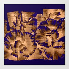 flowers through a pane Canvas Print
