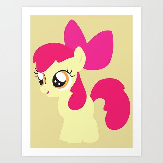 Apple Bloom Art Print