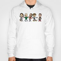 1d Hoodies featuring Schulz 1D Coffee Run by Ashley R. Guillory