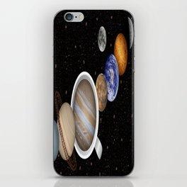 Coffee in Space 2 iPhone Skin