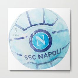 Napoli ball Metal Print