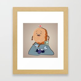 AT - Quiet Time  Framed Art Print