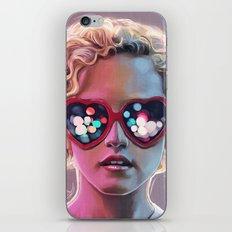 Electrick Girl iPhone Skin