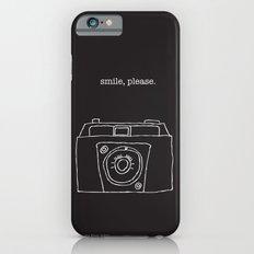 Vintage camera negative iPhone 6 Slim Case