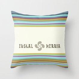 EUSKAL HERRIA Throw Pillow