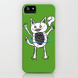 Monster Hula Hoop iPhone Case