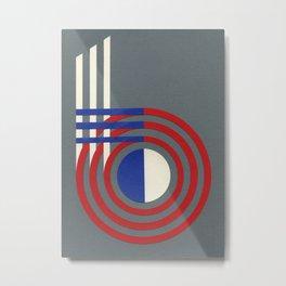 Form 6 Metal Print