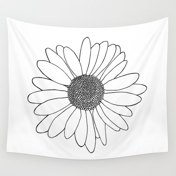 Daisy Wall Tapestry
