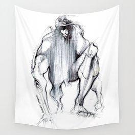 Futuristic Cyborg 1 Wall Tapestry