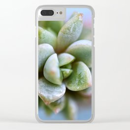 The Succulent Triplets Clear iPhone Case
