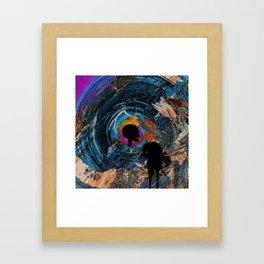 Final path Framed Art Print