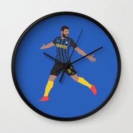 Antonio Candreva Inter Milan Print Wall Clock