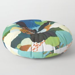 Minor Meander Floor Pillow
