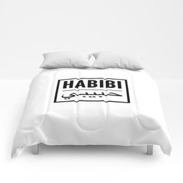 habibi arabic Comforters