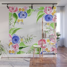 Bouquet of roses by Gosia&Helena Wall Mural