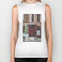 London England Architecture. Jack The Ripper Neighborhood. Biker Tank