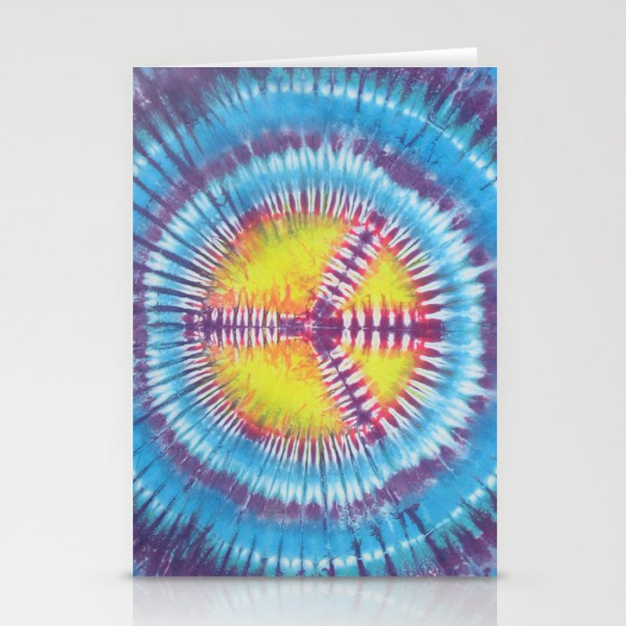 Peace Tie Dye Stationery Cards