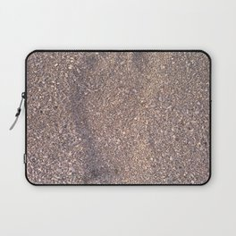 trace in the sand Laptop Sleeve