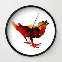 Morning song Wall Clock