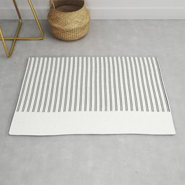 Vertical Lines and Cracked Rug