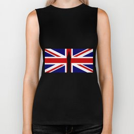 Union Flag Big Ben Biker Tank