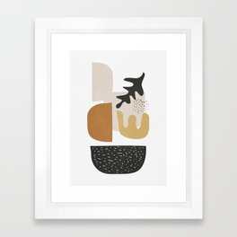 Abstract Shapes  2 Framed Art Print