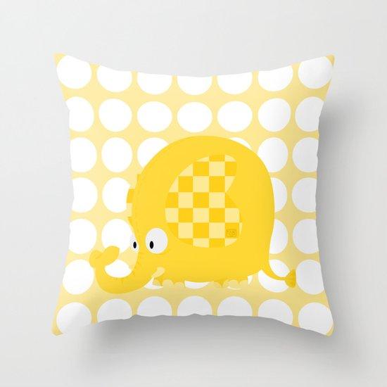 Little elephant Throw Pillow