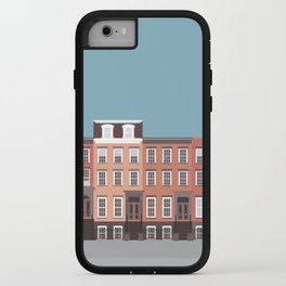 West Village, New York, NYC Travel Poster iPhone Case