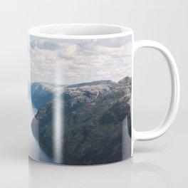 Lysefjorden, Pulpit Rock, Norway Coffee Mug