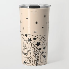 Love or Die Tryin' - Rhinestone Cowgirl Black & Cream Travel Mug