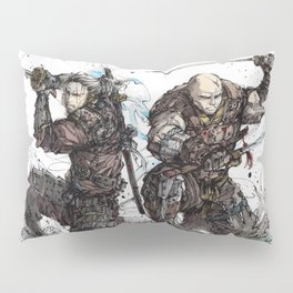 Samurai Duo - Samurai Witchers! Pillow Sham