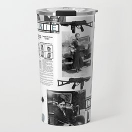 Bonnie And Clyde Travel Mug