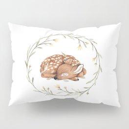 Wildflower Fawn Pillow Sham